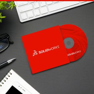 Get a Demo > CD with Case > SOLIDWORKS®