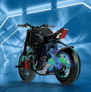 Discover SIMULIA® Structural Simulation Engineer for SOLIDWORKS® Cloud Solutions > Motorbike > Dassault Systèmes®